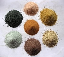 天然彩砂成为真石漆原料的原因